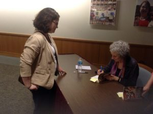 Atwood signing