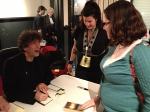 Gaiman signing