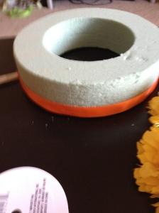 DIY floral circle-Finished ribbon