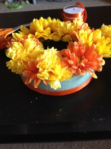DIY Floral ring- top ring flowers