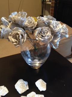Paper Flowers - Completed Bunch