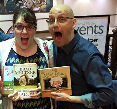 Meeting Brad Meltzer