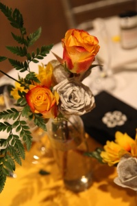 wedding paper flowers